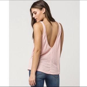 Free People Sleek And Easy Tank Top Small